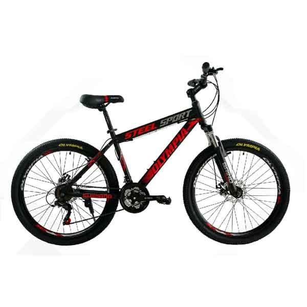 دوچرخه المپیا سایز ۲۶ – مدل steel sport disk