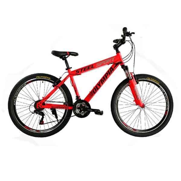 دوچرخه المپیا سایز ۲۶ – مدل steel sport