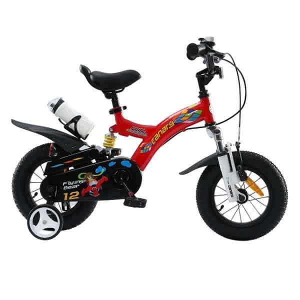 دوچرخه قناری سایز ۱۲ – مدل FLYING BEAR