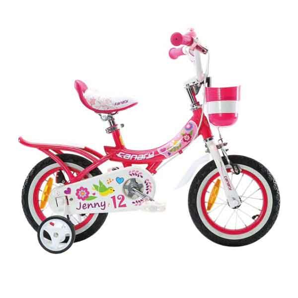 دوچرخه قناری سایز ۱۲ – مدل JENNY
