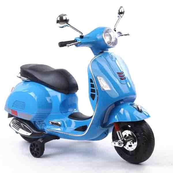موتور شارژی وسپا رنگ آبی