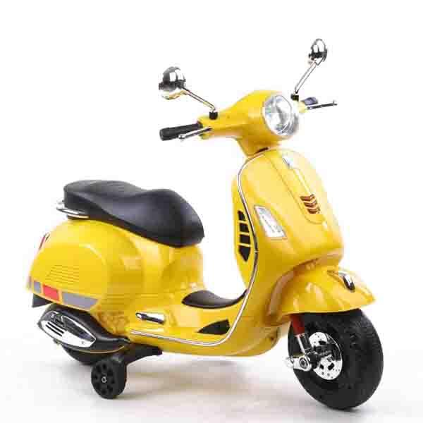 موتور شارژی وسپا زرد