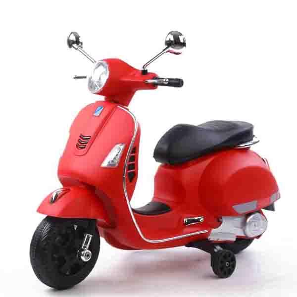 موتور شارژی وسپا قرمز