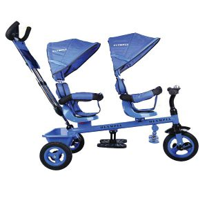 سه چرخه دوقلو کودک مدل المپیا -سه چرخه دو نفره