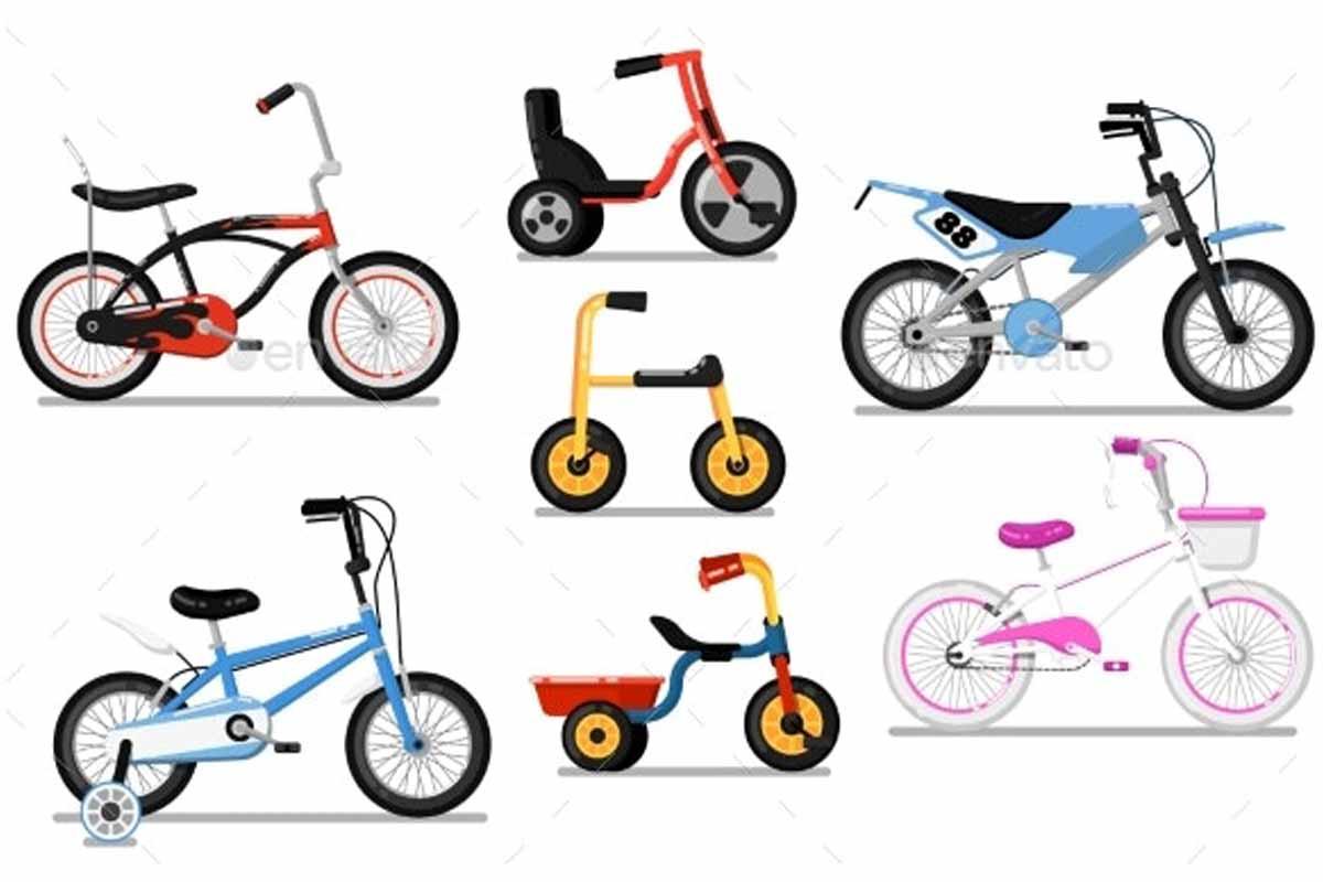سایز دوچرخه کودک